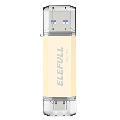 USB-Sticks 512GB Type C,Speicherstick OTG USB 3.0 Dual Flash Drive 2-in-1 Memory Stick für Tablet, PC, MacBook, Android Handy usw. (512GB)