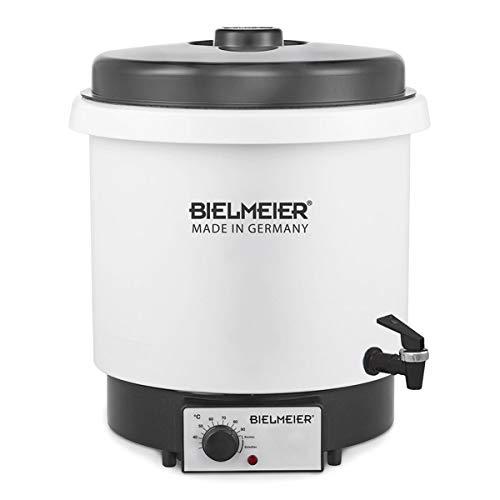 """BIELMEIER Einkochautomat Glühweinkocher Einkochtopf 29 Liter Kunststoff Auslaufhahn 3/8\"""" 2000 W BHG650.1"""