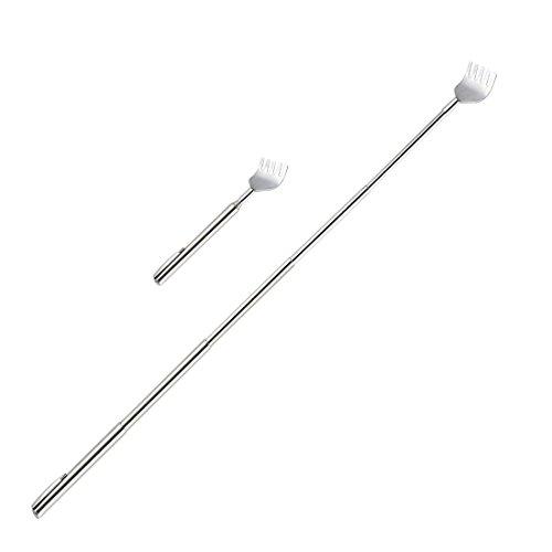Demarkt–Handtuchhalter–Rascador de espalda Acero Inoxidable Rascador de espalda telescópico Rascador de espalda Rascador Rascador de espalda