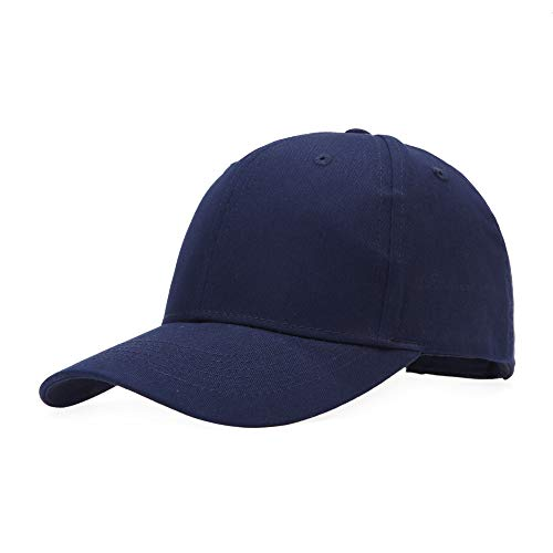 Baseballcap Unisex Käppi Cap Baseballmütze Schirmmütze Damen Herren Hip-Hop-Mütze, Einheitsgröße, Navy