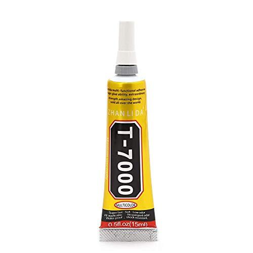 Dengheng T-7000 Epoxidharz-Kleber, Sekundenkleber, 15 ml, für Reparatur und Versiegelung von Rissen
