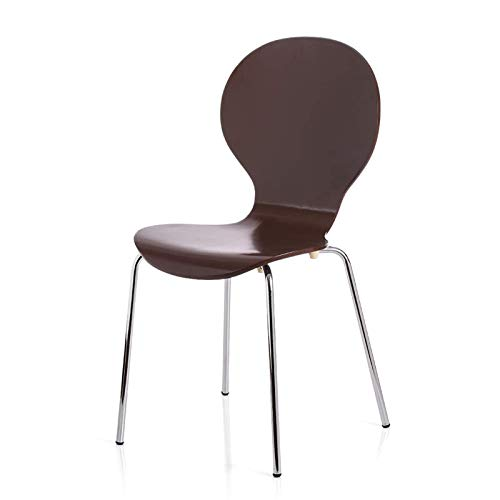 TEET Sillas de comedor, 2 unidades, silla de comedor, silla de comedor redonda con forma de concha para oficina, salón, sala de estar (tamaño: 42,5 x 41 x 86 cm; color: vino rojo)