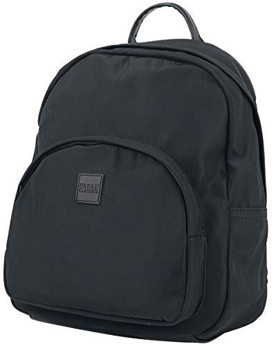 Urban Classics Midi Backpack - Zaino colore: Nero, Nero , 35 cm, Zaino Casual