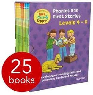 Read With Biff, Chip and Kipper (Levels 4-6) - 25 Books Box Set Oxford University Press (SLIPCASE)