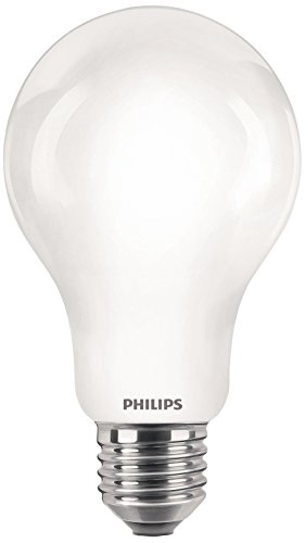 Philips LED-Leuchtmittel E27 Glas, Warmweiß, Glas, weiß, 100W