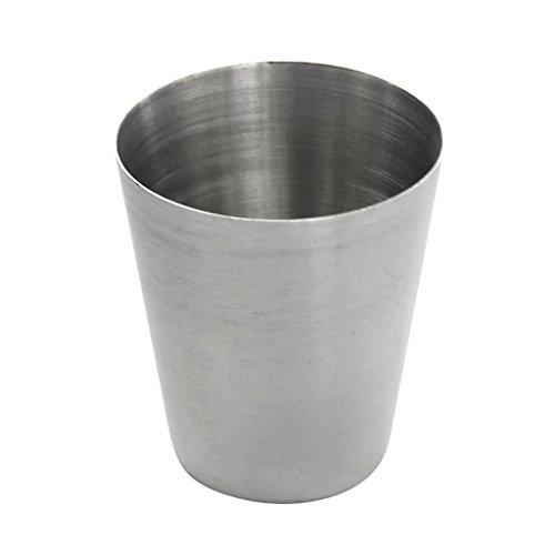 perfk Vasos de Acero Inoxidable Duraderos de 30 Ml, Vasos de Vino, Taza de Copa