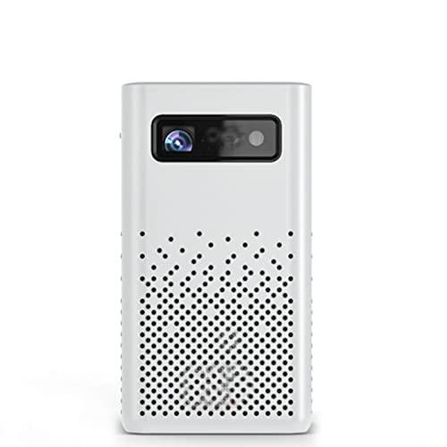 KIUY Proiettore subwoofer, Supporto Full HD 1080p 120' videoproiettore, Mini con proiettore Schermo, utilizzato per Lo Schermo dello Smartphone per Videogiochi Home Theater