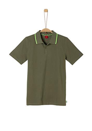 s.Oliver Junior Jungen 402.10.005.13.130.2038361 Polohemd, 7843 Green, S/REG