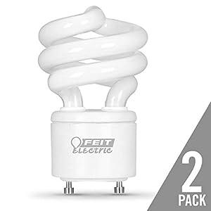 Feit BPESL13T/GU24/2 13-watt Twist Soft White GU24 Base, 2-Pack
