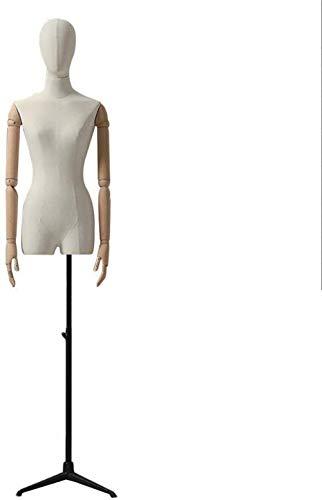 Tailors Dummy jurk vormen Met Hoofd Tailor Bust Model Statief Base Manikins Met Arms mannequin volledige lichaam