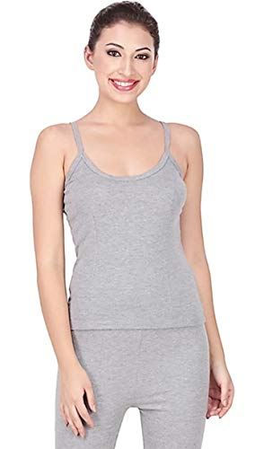 MS FASHION Women's Grey Color Poly Cotton Thermal Sleeveless...