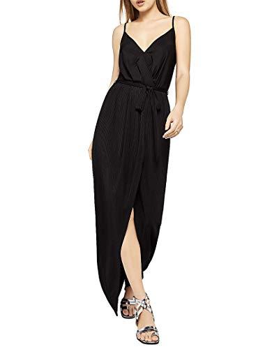 BCBGeneration Damen HIGH Low WRAP Dress Kleid für besondere Anlässe, schwarz, Klein