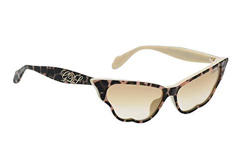 Blumarine Occhiale da Sole SBM748 by Giulia De Lellis LEOX marrone taglia 59 mm occhiale donna