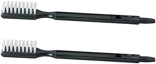 Omega Juicer Cleaning Brush for 8006, VRT, 8004 8003 VERT VRT350 VRT330 masticating juicers replacement cleaner, HD bristles (1 Brush) (2 Brushes)