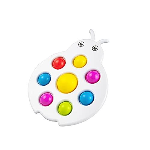 ZXVC Einfache Dimple Fidget Toy Baby Trainingsspielzeug Übungsbrett Sensorikspielzeug für Autismus, Angst Stressabbau Spielzeug für Kinder und Erwachsene