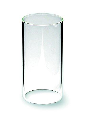 Windlichtglas ohne Boden, klar, 12 Stück