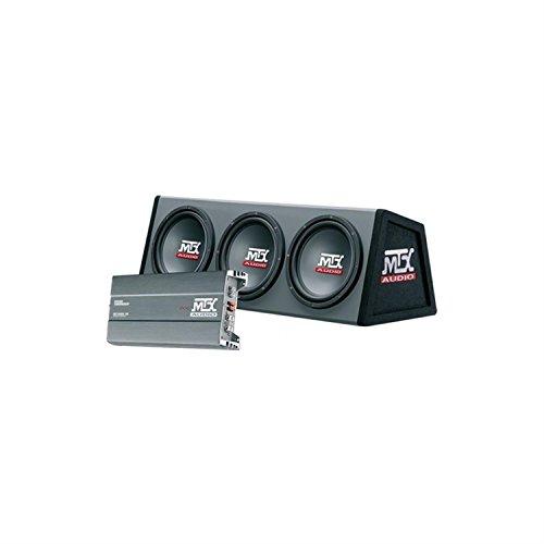 MTX RTP5000Auto Car Stereo-Lautsprecher Boxen (500W, rt500. 1d Verstärker, Triple Subwoofer, Channel Set Bass Reflex, leistungsstark-Wiedergabe)