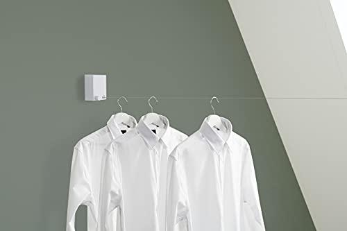 UMUZI CLEANING Tendedero ropa extraíble, Tendedero Diseño básico, Tendedero para secar ropa, extensible hasta 4 metros, max 15 kg