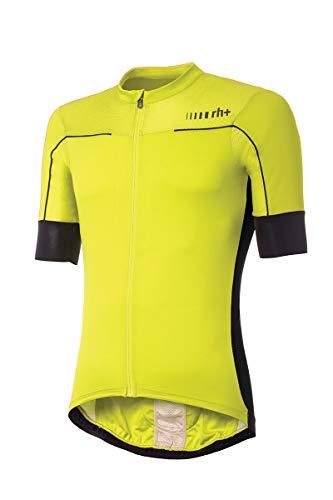 Zero RH+ Lapse, Bike Jersey Uomo, Fluo Yellow/Black/Reflex, M
