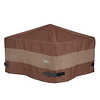 Duck Covers Ultimate Waterproof 40 Inch Square Fire Pit Cover