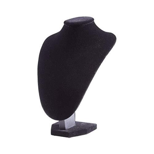 WYFX Perchero de joyería Negro, Materiales seleccionados, Suave y Delicado, cómodo, Estable y Duradero, Utilizado para Colgar Joyas