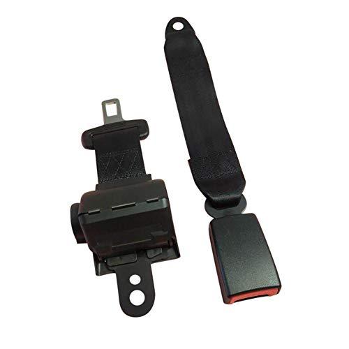 HOTEU Asiento de automóvil de 2 Puntos Cinturón de Seguridad Hebilla de cinturón Cerradura Universal Auto Extensor de cinturón de Seguridad Accesorios Interiores del vehículo