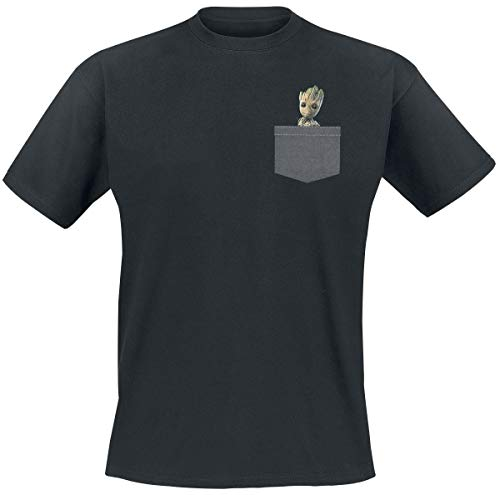 GUARDIANS OF THE GALAXY T-Shirt Pocket Groot