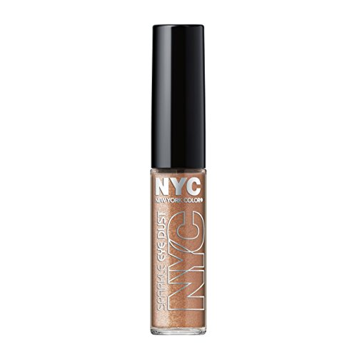 N.Y.C. New York Color Sparkle Eye Dust, Golden Champagne, 0.105 Ounce