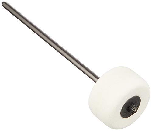 Holle Leadar Ronde oorbellen met esthetische hars, 3,9 x 1,3 cm, wit paar