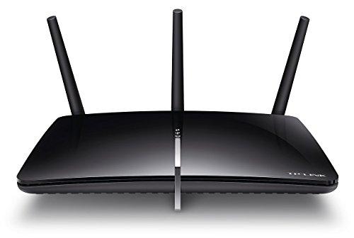 TP-LINK AC1750 - Router (10, 100, 1000 Mbit/s, 10/100/1000Base-T(X), 802.11a, 802.11ac, 802.11b, 802.11g, 802.11n, 450, 1300 Mbit/s, 2,4 GHz, Ethernet (RJ-45)) Negro