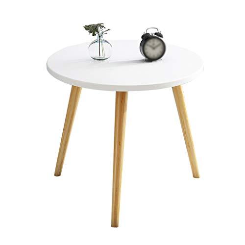 CSQ Sofa Beistelltisch, Haus Schlafzimmer Kleiner runder Tisch aus Holz Move It Can Coffee Table Hotel Dekorative Tabellengröße: Durchmesser 30-60cm (Color : B, Size : 40 * 40CM)