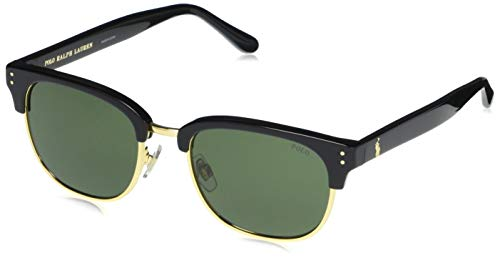 Ray-Ban Herren 0PH4152 Sonnenbrille, Grau (Black Gold), 54.0