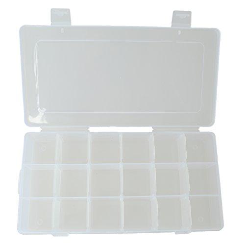 Sortierbox Sortierkasten Kleinteilebox Sortierkiste mit 18 Faecher fuer Schrauben