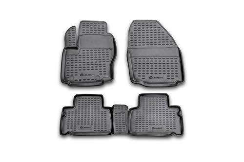 Element EXP.NLC.16.12.210 Premium - Alfombrillas de Goma Antideslizantes para Ford S-MAX año: 06-20, Color Negro