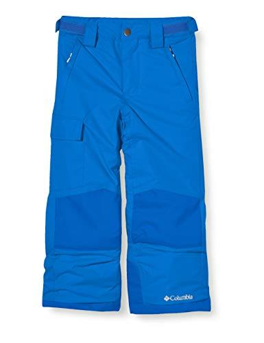 Columbia Waterdichte skibroek voor kinderen, Bugaboo II Pant, Nylon, Blauw (Super Blue), Gr. S, 1806712