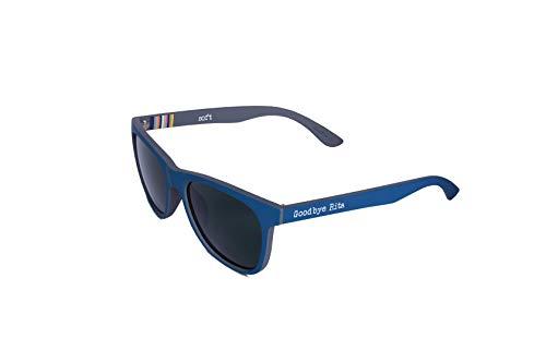 Goodbye, Rita. - Gafas de sol Polarizadas Color azul- Lente ahumada - Modelo Keys