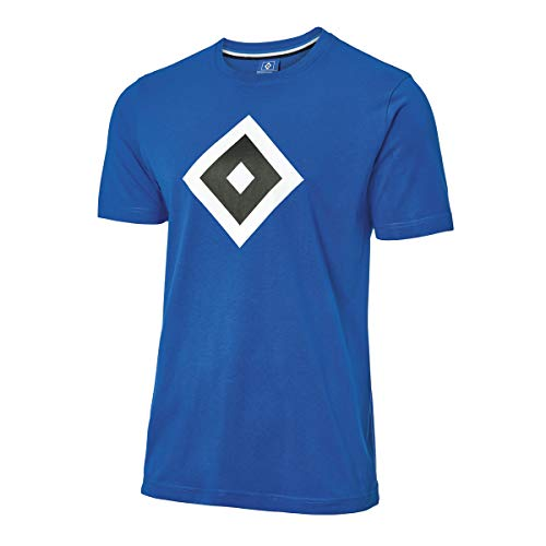 Hamburger SV HSV T-Shirt Raute blau Gr. 3XL