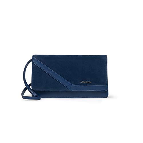 Nero Giardini P945014D Pochette Da Donna In Camoscio E Materiale Tecnico - Cobalto PZ EU