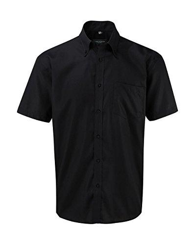 Russell collection totalement bügelfreies manches courtes chemise r 957 0 m XXXL Noir - noir