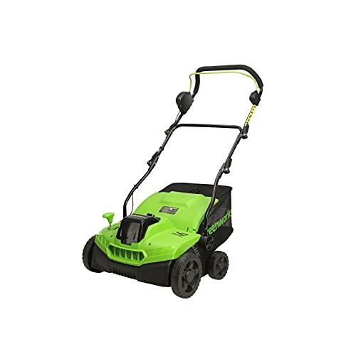 Greenworks 40V (2-In-1) Dethatcher / Scarifier, Tool Only