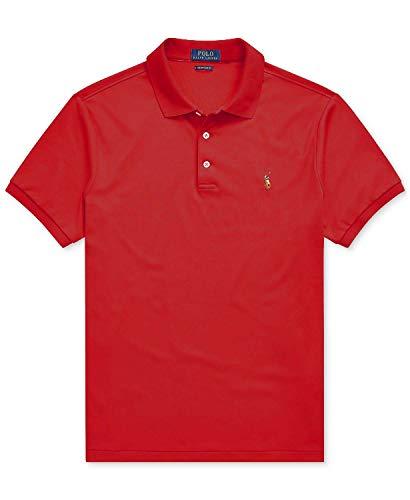 Ralph Lauren Herren Classic Fit Interlock Polo Shirt -  Rot -  Mittel