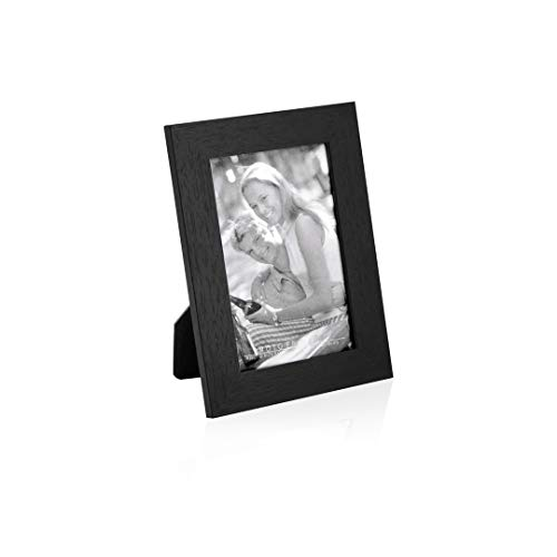 Marco para fotos 10x15 cms., marco de fotos elegante, portaretrato, portafotos, marco sobremesa de madera