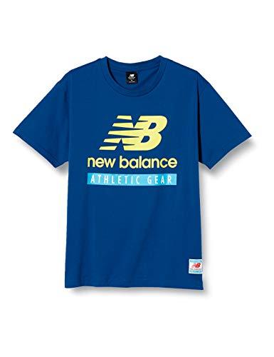 [ニューバランス] NB Essentials Field Day NBロゴ Tシャツ DISH//着用モデル AMT11517 キャプテンブルー(CNB) 日本 M (日本サイズM相当)
