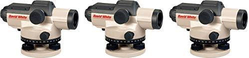 David White 完売 AL8-32 32-Power Automatic 3 Optical Level 誕生日 お祝い