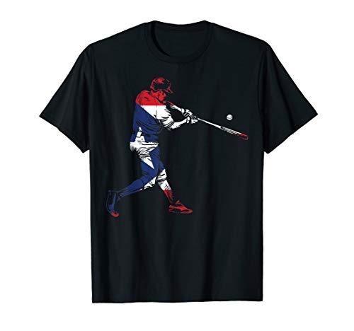 Puerto Rico Baseball Shirt   Cute Famous Island Game Gift