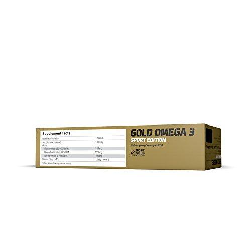 Olimp Gold Omega 3 Sport Edition 120 Kapseln, 1er Pack (1 x 151,2 g) - 5