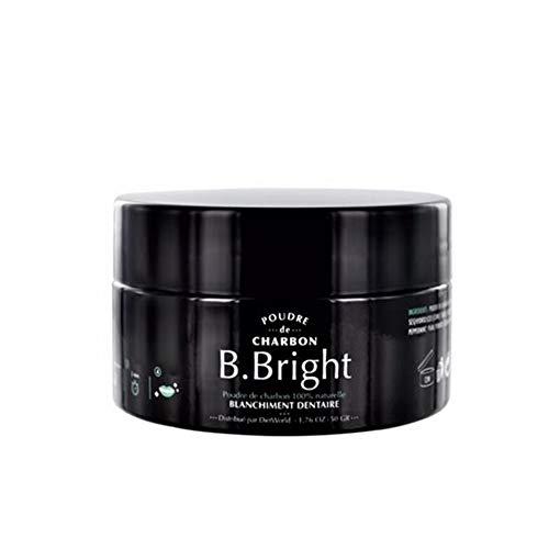 Dietworld B.Bright Poudre de Charbon pour Blanchiment Dentaire 50 g