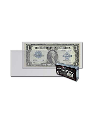 BCW Deluxe Large Bill Currency Holder