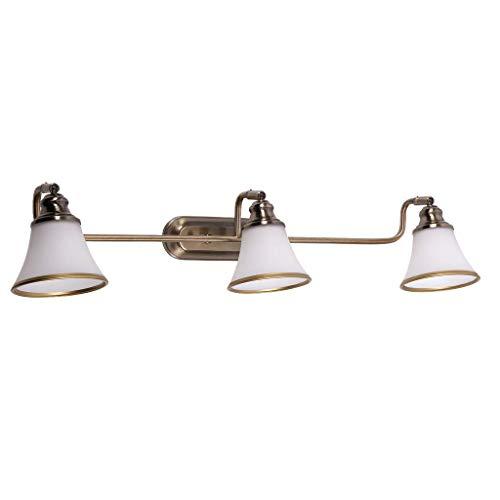 Schöne Wandleuchte / 3 Lichter / Beleuchtung / Badbeleuchtung / Bronze 6547n