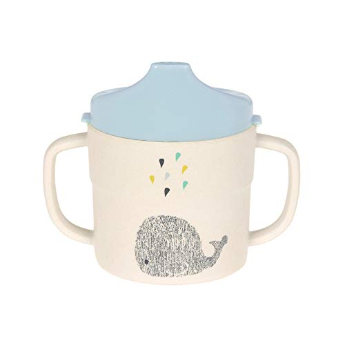 LÄSSIG Tazzina per bambini/Sippy Cup Little Water Whale